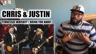 "CHRIS STAPLETON AND JUSTIN TIMBERLAKE ""TENNESSEE WHISKEY / DRINK YOU AWAY"" (CMA'S 2015) 
