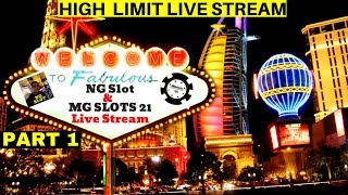$5000 High Limit Slot Play w/MGSlots 21 From LAS VEGAS