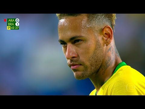 Neymar vs Arábia Saudita (Away) HD 720p (12/10/2018)