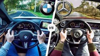 BMW 5 Series 2017 M Sport 540i vs Mercedes Benz E Class E43 AMG ACCELERATION & POV by AutoTopNL