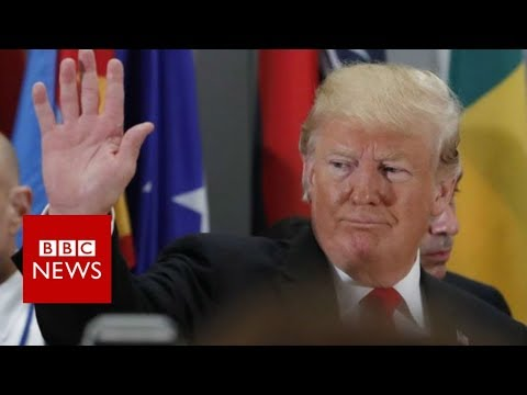 Trump chairs key UN Security Council session - BBC News