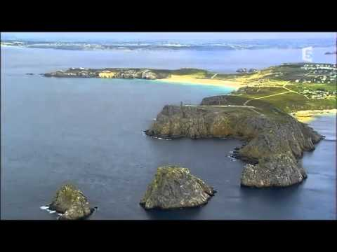 Les côtes françaises vues du ciel Brest