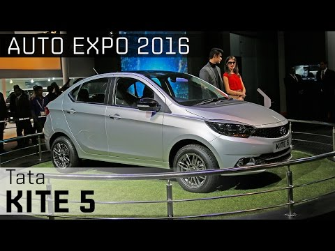 Tata Kite 5 :: 2016 Auto Expo WalkAround Video :: ZigWheels