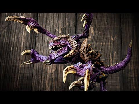Timelapse of sculpting a zergling (Starcraft 2) [8:57]