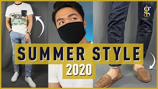 10 SUMMER STYLE ESSENTIALS You Want In Your Wardrobe   Mens Fashion 2020