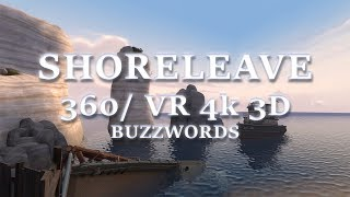 TF2 - Frontline: Shoreleave 360/ VR Fly Through (4k 3D)