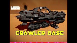 Huge Mobile Crawler Base Daybreak - Space Engineers