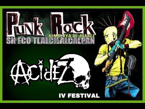 Acidez, Y sigue la destruccion, En IV Festival Punk, En. S.F.T. 2017