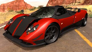 Crashing My New Pagani