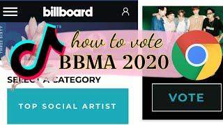 TUTORIAL | HOW TO VOTE BTS ON BILLBOARD MUSIC AWARDS 2020 | TOP SOCIAL ARTIST