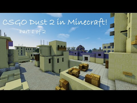 CSGO Dust 2 Minecraft Map Minecraft Project Dust Map on