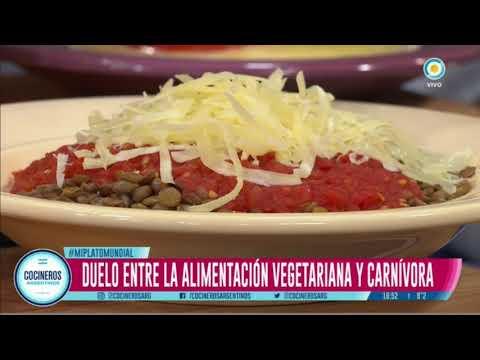 Carnívoros versus vegetarianos por Diego Sívori