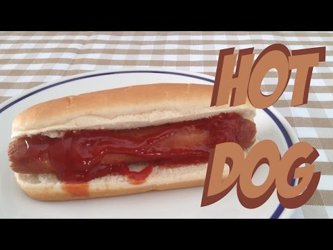 How to make hotdog in microwave from scratch #fastmicrowave microwave würstel