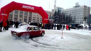 Авто Ваз 2107 драг дрифт краш тест ( ТЫХАН TV )