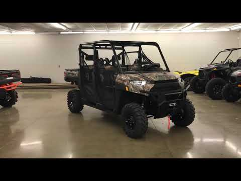 2019 Polaris RANGER CREW XP 1000 EPS Back Country Limited Edition in Chicora, Pennsylvania - Video 1