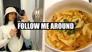 The BEST Chicken Noodle Soup Recipe♡ VLOG