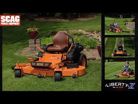 2019 SCAG Power Equipment Liberty Z 61 in. 26 hp Kohler Zero Turn Mower in Glasgow, Kentucky - Video 1