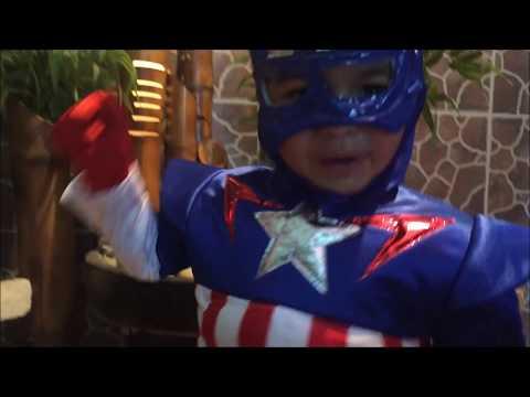 Niño Aventuras | Capitán América| Avengers| Disfraz infantil
