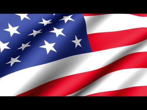 [10 Hours] American Flag Waving (Animated) - Video & Audio [1080HD] SlowTV