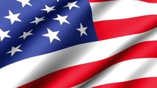 [10 Hours] Veterans Day American Flag Waving (Animated) - Video & Audio [1080HD] SlowTV