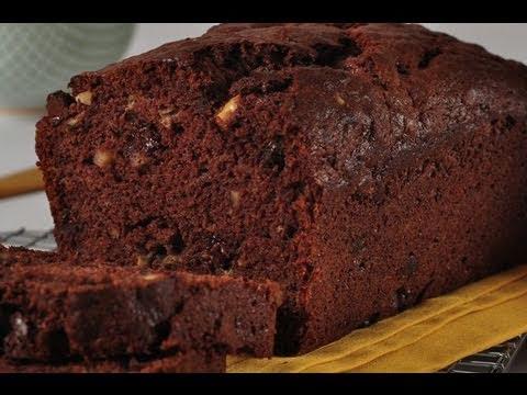Chocolate Banana Bread Recipe Demonstration – Joyofbaking.com