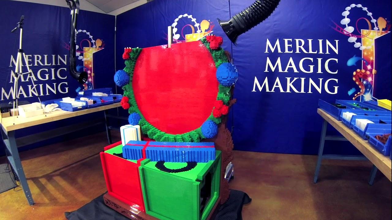 Hallmark Channel's Countdown to Christmas LEGO model