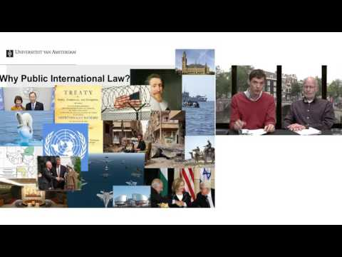Webinar LLM International and European Law