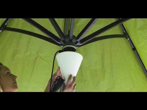 Sun Garden - Aufbauanleitung Lampe Easy Sun Light