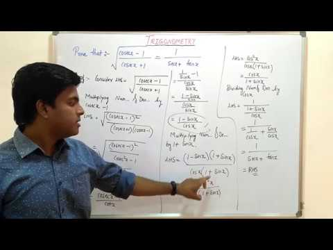 Trigonometry Part 41 Solutions for Class 10 CBSE