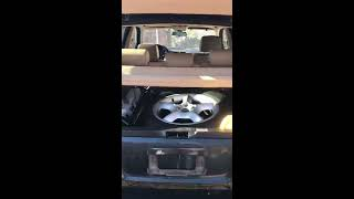 BMW X5 dead battery locked out