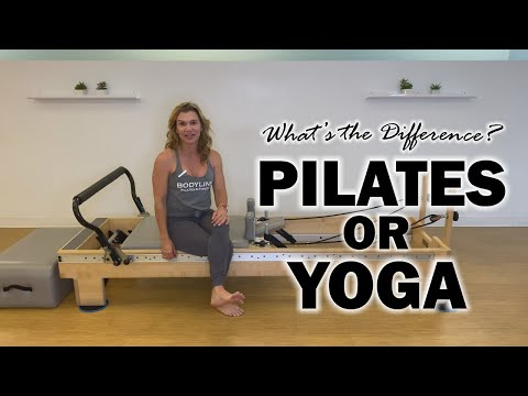 What's the Difference Between Pilates and Yoga? - YouTube