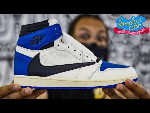 Worth $5,000? Air Jordan 1 Fragment x Travis Scott At Sneaker Con EARLY LOOK