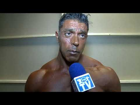 Interview Luis Gigena (Blind bodybuilder. Argentine)
