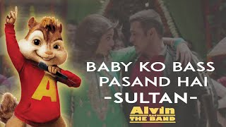 """Baby Ko Bass Pasand Hai"" chipmunks version | Alvin and The Band"