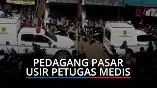 VIdeo Pedagang Pasar Cileungsi Usir Petugas Medis yang Hendak Tes Rapid