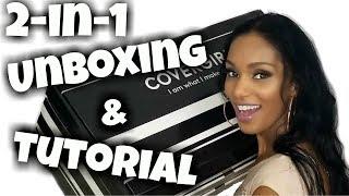 Covergirl Super Unboxing & Makeup Tutorial