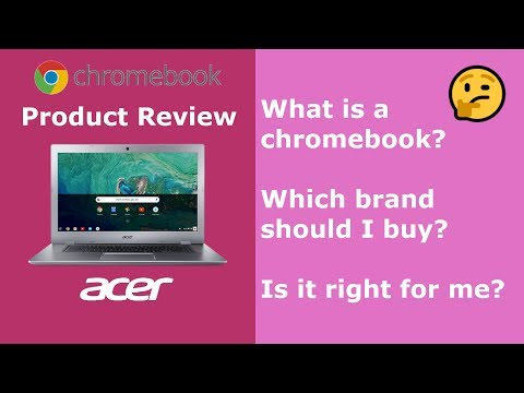 A Review of the Acer Chrombook 15 with Google Chrome OS