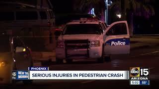 Pedestrian struck by car in Phoenix