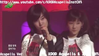 [Acapella] Girls Generation (SNSD) - Ooh La-La!