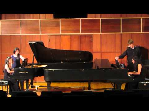 Piazzolla Libertango for two pianos