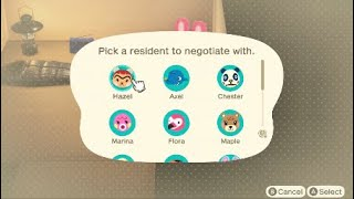 CHOOSE AND IMMEDIATELY kick out unwanted villagers in 15 minutes on Animal Crossing New Horizons!