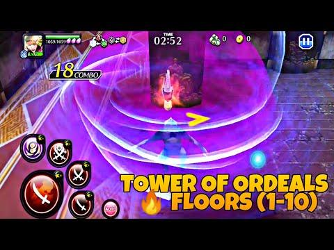 SENKAIMON QUEST TOWER OF ORDEALS FLOORS (1-10) MOD *ONE HIT KILL* 🔥 Bleach Brave Souls