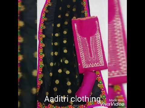 Aaditri Ethnic Chanderi Suit