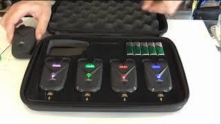 Сигнализатор поклевки с пейджером на 6 палок