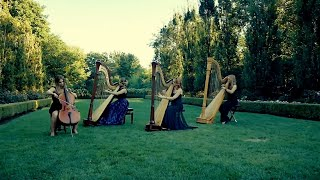 A Thousand Years Harp Trio With Cello Accompaniment By Chantal Dube The Harpist