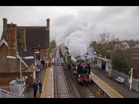 LNER 60163 'Tornado' with 'The Canterbury Christmas Tale' 12…