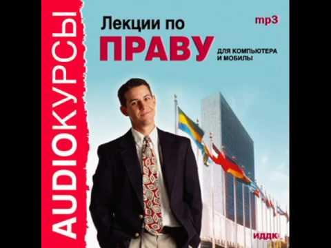 2000236 09 Аудиокнига. Лекции по праву. Правонарушения