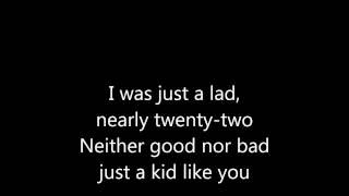 Lost Highway lyrics video