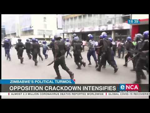 Opposition crackdown intensifies in Zimbabwe