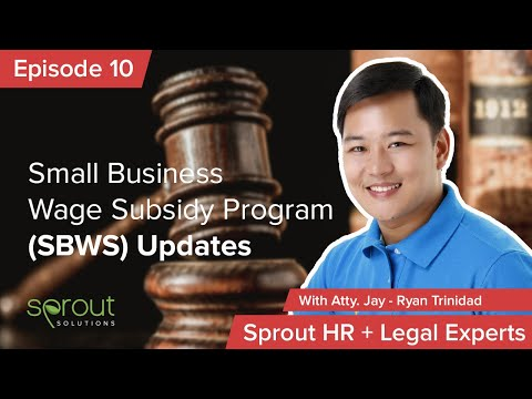 Episode 10: Small Business Wage Subsidy Program (SBWS) Updates